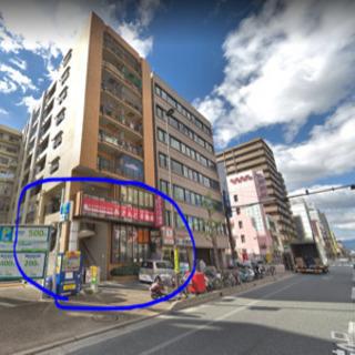 希少1階飲食店居抜き物件♫重飲食店も可能です♫大通り沿いで認知性有り♫