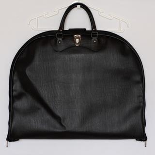 【出張に!】スーツ収納バッグ ガーメントバッグ(黒)値下げしました!