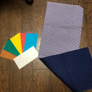 キルティング布と6色フェルトセット