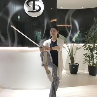 中国から来日 国家1級審判員 陳非凡の「はじめての剣クラス(60...