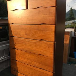 木製整理タンス