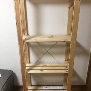 棚 IKEA 高さ174cm  幅77cm 奥行34cm 無料 ...