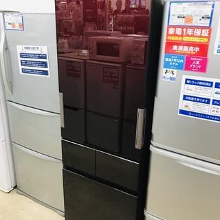 1年動作保証付 2017年製 SHARP 4ドア冷蔵庫【トレファ...