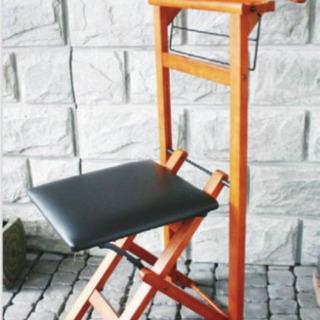 ハンガーチェアー 椅子  木製  2脚