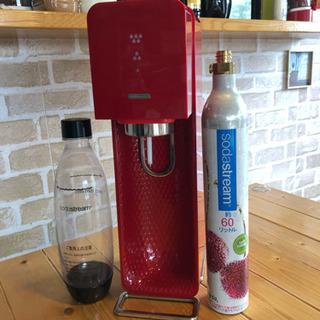 ソーダストリーム sodastream RED