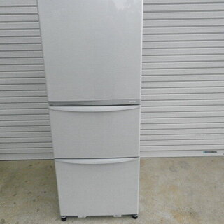 東芝 冷凍冷蔵庫GR-E34N 340L 2013年 3ドア ...
