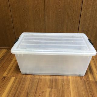 クリアボックス(使用感あり)