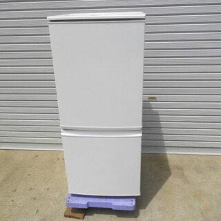 シャープ SJ-D14A2ドア 冷凍冷蔵庫 2015年 美…