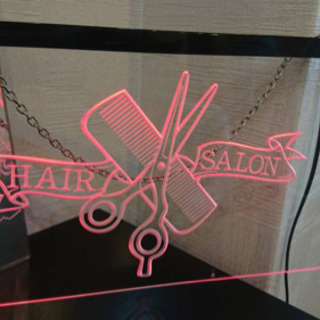 LED 看板 美容室 美容院の画像