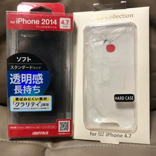 iPhoneソフトケース4.7インチ×5