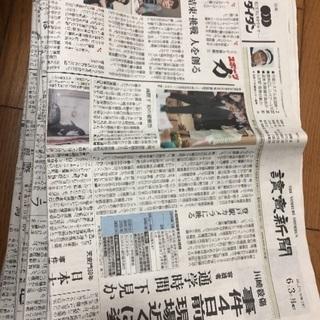 6月分新聞紙まとめ売り*