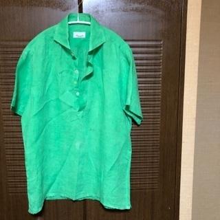 イタリア製ジャンネットプルオーバーシャツ