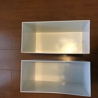 【無印】ポリプロピレンファイルボックス【2個セット】収納ケース 収納ボックス - 杉並区