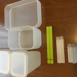 無印良品 キッチン周り 収納ボックス 収納セット (おまけ付き)