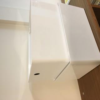 IKEA 収納ボックス スタッキング 【2個セット】 積み…