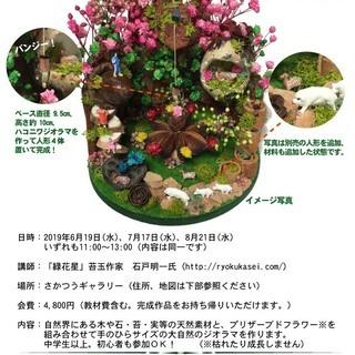 9月18日開催。 情景模型店のさかつうギャラリーでハコニワジオラ...
