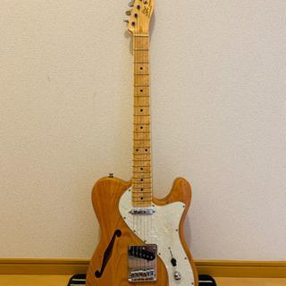 SX TL タイプギター アッシュ セミホロウ ボディ KTL-...