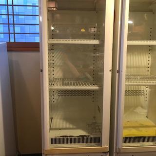 【ジャンク】SANYO 冷蔵ショーケース 136L