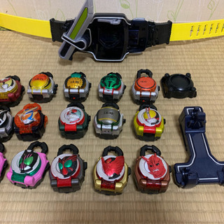 【ガイム】仮面ライダー鎧武 ベルト+ロックシード15セット