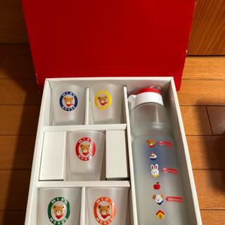 【未使用】ミキハウス グラス、ピッチャーセット