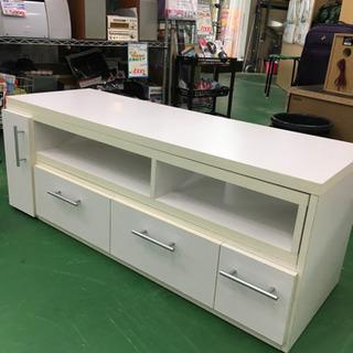 【在庫処分特価】RH0942 ホワイト スライド式テレビ台