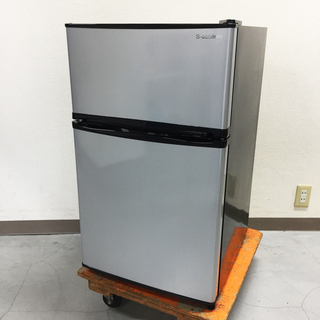 中古☆S-cubism 冷蔵庫 2017年製 90L