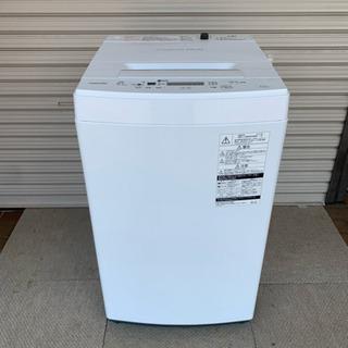 TOSHIBA 東芝 AW-45M5(W) 全自動洗濯機 201...