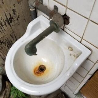 レトロ 手洗い受け?
