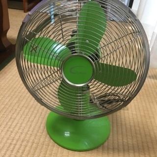 昭和レトロ風ミニ扇風機