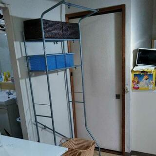 洗濯機ラックとかご(6)