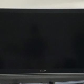 ジャンク品 大型 液晶テレビ SHARP AQUOS