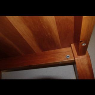 無料 ローテーブル ローデスク チェリー ウッド 北欧 モダン ヴィンテージ スタイル − 宮城県