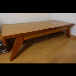 無料 ローテーブル ローデスク チェリー ウッド 北欧 モダン ヴィンテージ スタイル - 家具