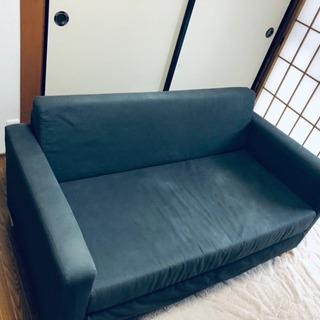 【中古】IKEA  ソファーベッド