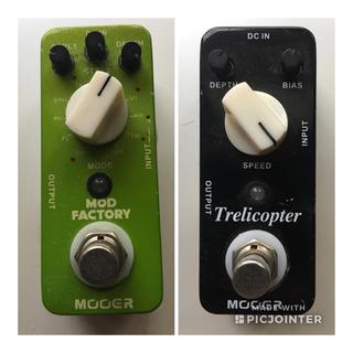 ギターエフェクター 2点モジュレーション/トレモロ