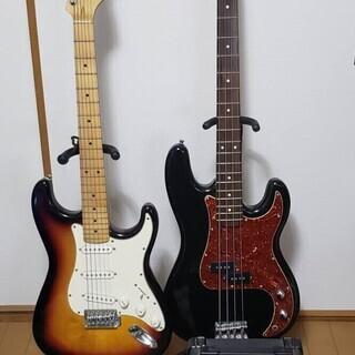 ギター・ベース・チューナー・アンプセット(SELDER、KORG...