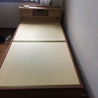 照明・コンセント付の畳ベッド