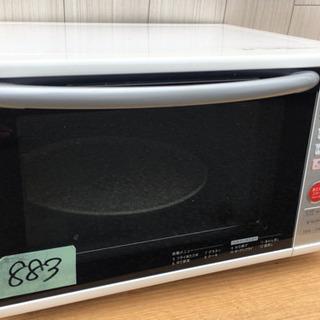883番 SHARP✨電子レンジ💡RE-S204-W‼️