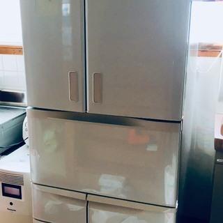 【取引中】東芝 481L 2015年製 冷蔵庫 形名GR-H48FX