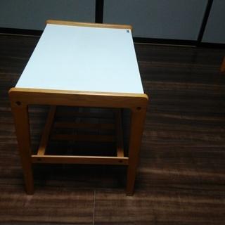 オールドカリモク サイドテーブル 昭和レトロ