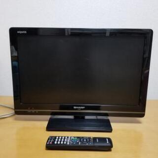SHARP AQUOSテレビ