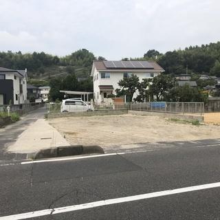 倉敷市真備町箭田 幹線道路沿い 南西の角地