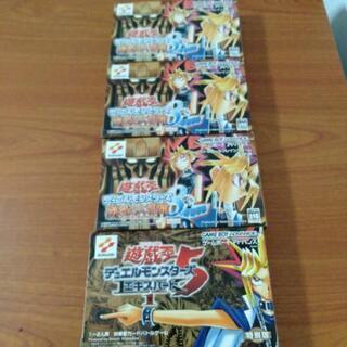 遊戯王 GBA 特別版カード付き 4点