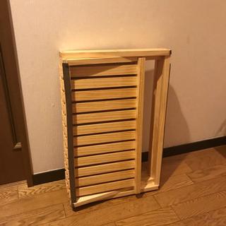 コーナンラック 折り畳み式木製ラック W600mm(ワイド3段)
