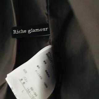 合成皮革のライダースジャケット