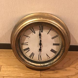 【壁掛時計、アンティーク】