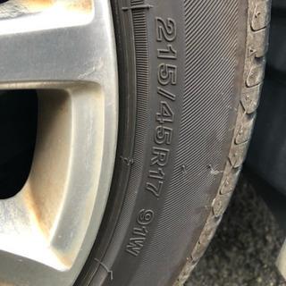 タイヤ4本   値下げです!