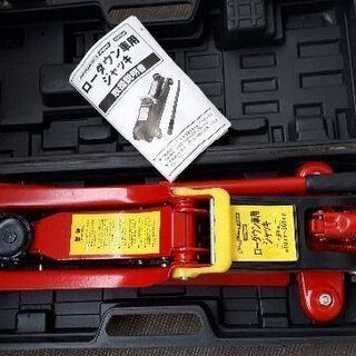 油圧式ローダウン車用ジャッキ