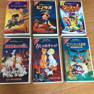 DISNEY  名作コレクション  VHS   各種