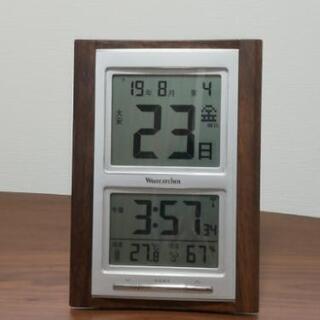デジタル電波時計